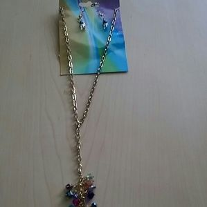 Jewelry - Gold Tassel chain necklace
